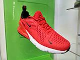 Женские кроссовки в стиле найк Air Max 270 Gray Red, фото 3