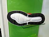 Женские кроссовки в стиле найк Air Max 270 Gray Red, фото 6