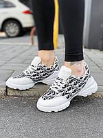 Кроссовки женские Dior D9457 белые
