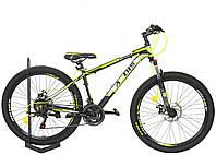 """Горный велосипед Ardis """"Hiland"""" 29"""" 17"""" алюминиевый с дисковыми тормозами, Салатовый"""