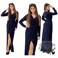 Вечернее женское платье в пол Адана 696