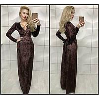 Вечернее женское платье бархатное Лолита 333