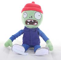 Зомби на коньках Мягкая плюшевая игрушка Растения против зомби из игры Plants vs Zombies, фото 1