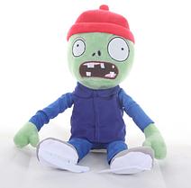 Зомбі на ковзанах М'яка плюшева іграшка Рослини проти зомбі з гри Plants vs Zombies