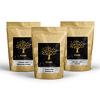 Набор кофе светлой обжарки под фильтр Rwanda Karambi/Ethiopia Haileslassie/Kenya Kamoini 750 грамм.