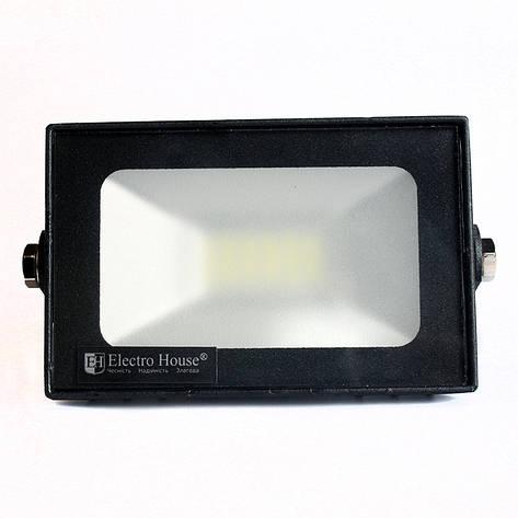 ElectroHouse LED прожектор 20W 6000K 1800Lm IP65, фото 2