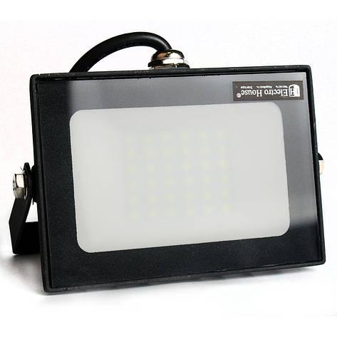 ElectroHouse LED прожектор 30W 6000K 2700Lm IP65, фото 2