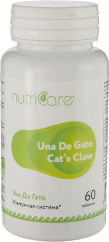 Уна дэ Гато Кошачий Коготь (Una De Gato) Nutriсare Арго 60 таблеток - для коррекции иммунитета