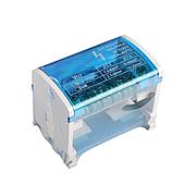 ElectroHouse Шина нулевая в корпусе (кросс-модуль) 2X7 125A IP20
