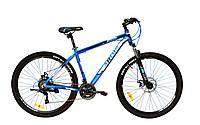 """Горный велосипед Ardis """"Hiland"""" 29"""" 19"""" алюминиевый с дисковыми тормозами, Голубой"""