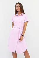 S, M, L | Женское розовое платье-рубашка Sandy