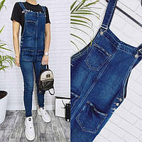 Комбинезон джинсовый женский 22307