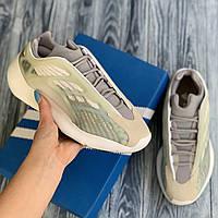 Adidas Yeezy 700 V3 бежевые с серым кроссовки мужские