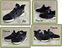 Восстановление системы шнуровки на кроссовках