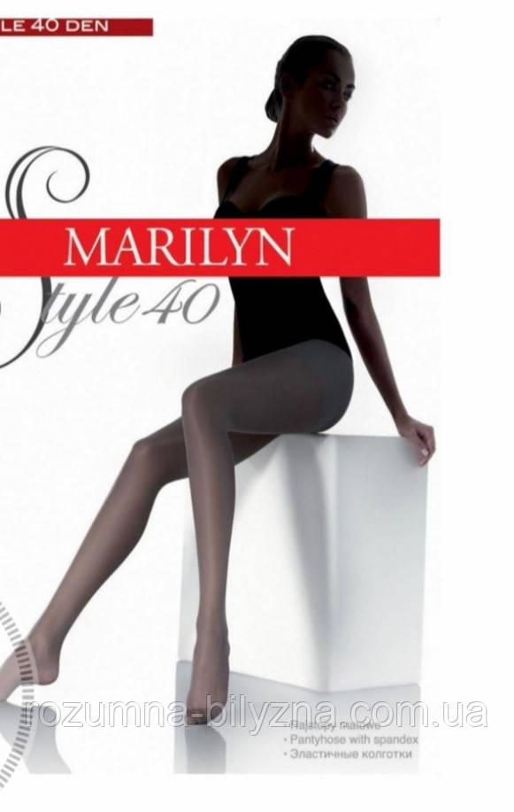 Чорні колготки ТМ Marilyn розмір 2,3, 5, 4,6