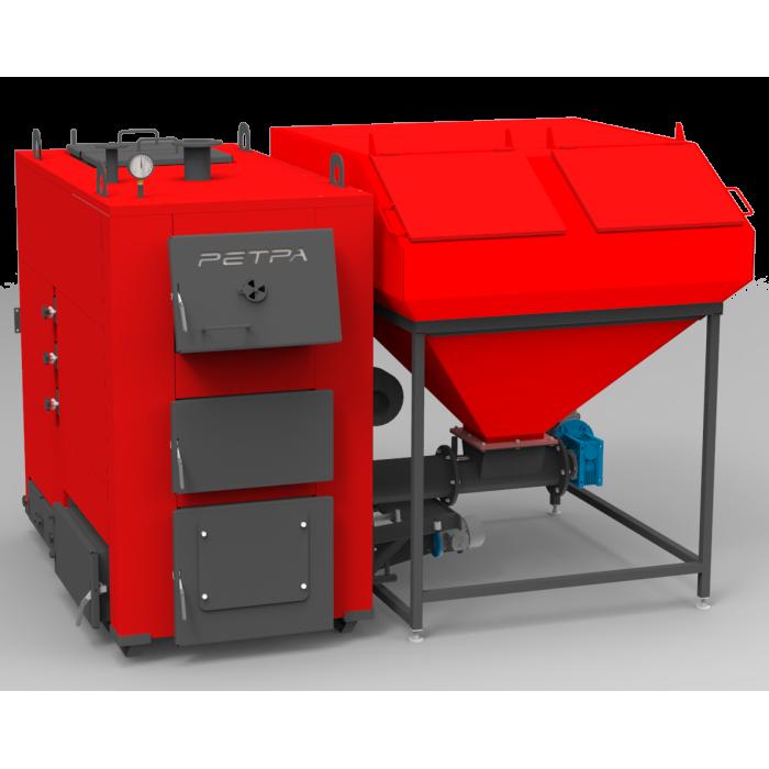 Твердотопливный котел Ретра-4М 300 кВт с НГС и автоматической подачей топлива
