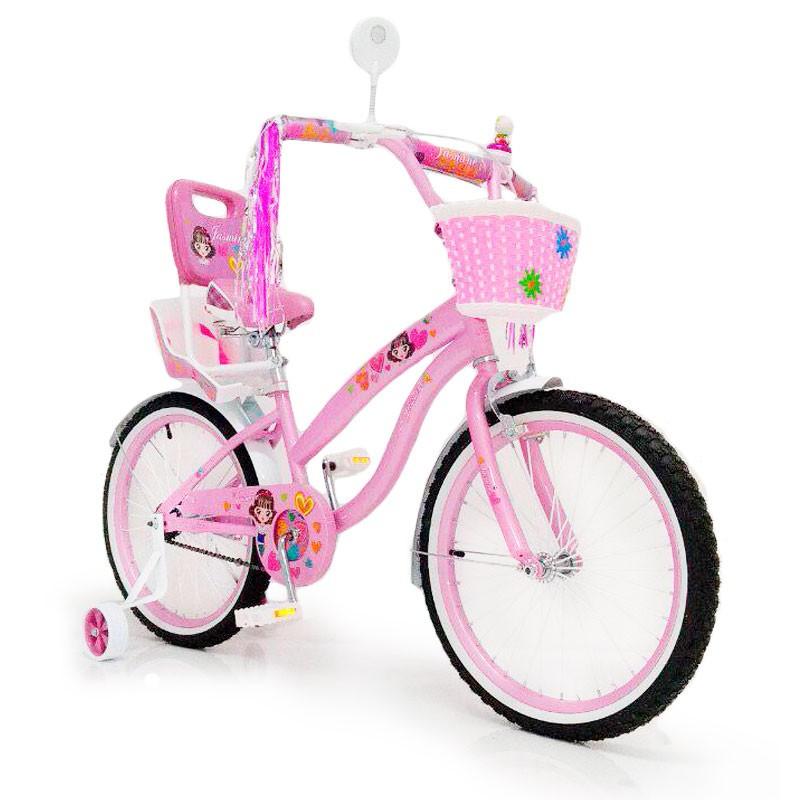 "Дитячий велосипед Sigma JASMINE R18"" (Рожевий)"
