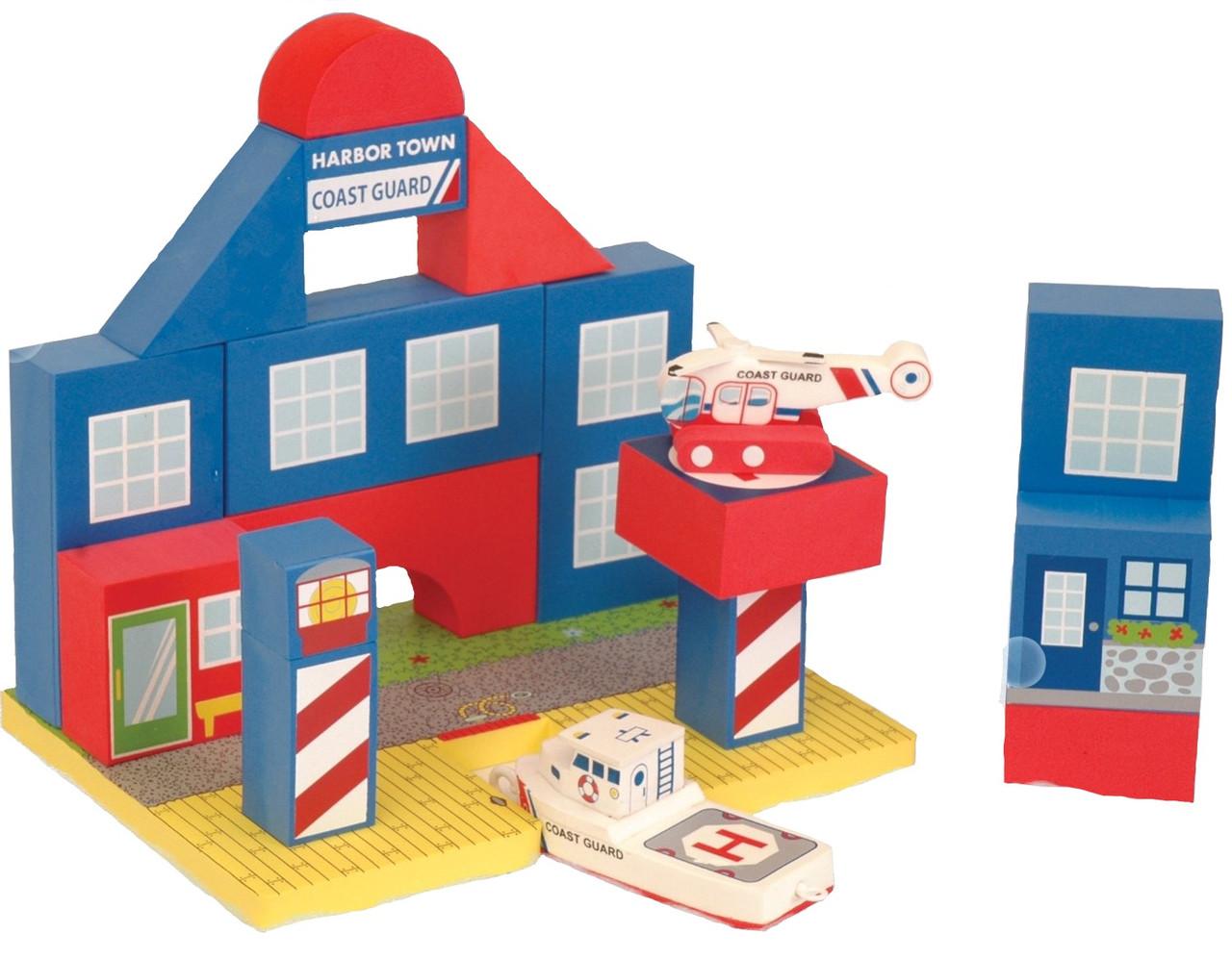 Плавающие блоки для ванной Just Think Toys Береговая охрана (22087)