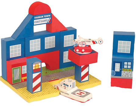 Плавающие блоки для ванной Just Think Toys Береговая охрана (22087), фото 2
