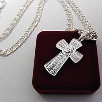 Серебряный крест Meridian 925 пробы (Кр0012)