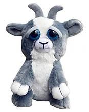 Интерактивная игрушка Feisty Pets злобная зверюшка Плюшевый Козлик 20 см