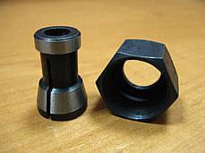 Цанга 8 мм з гайкою фрезера Procraft 2400, фото 2