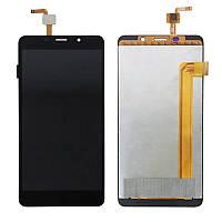 Дисплей для мобильного телефона Impression Imsmart c571, черный, с тачскрином