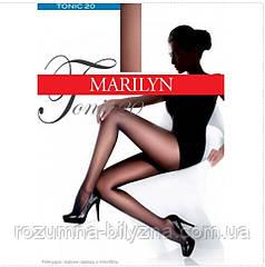 Колготи жіночі синього кольору TM Marilyn 20 den Розміри 1/2. 3/4