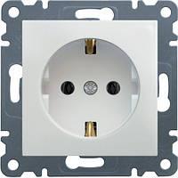 Розетка с заземлением Lumina-2 16А/230В белая