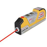 Лазерный уровень 4в1 Laser Level Pro 3 с рулеткой, Строительный уровень