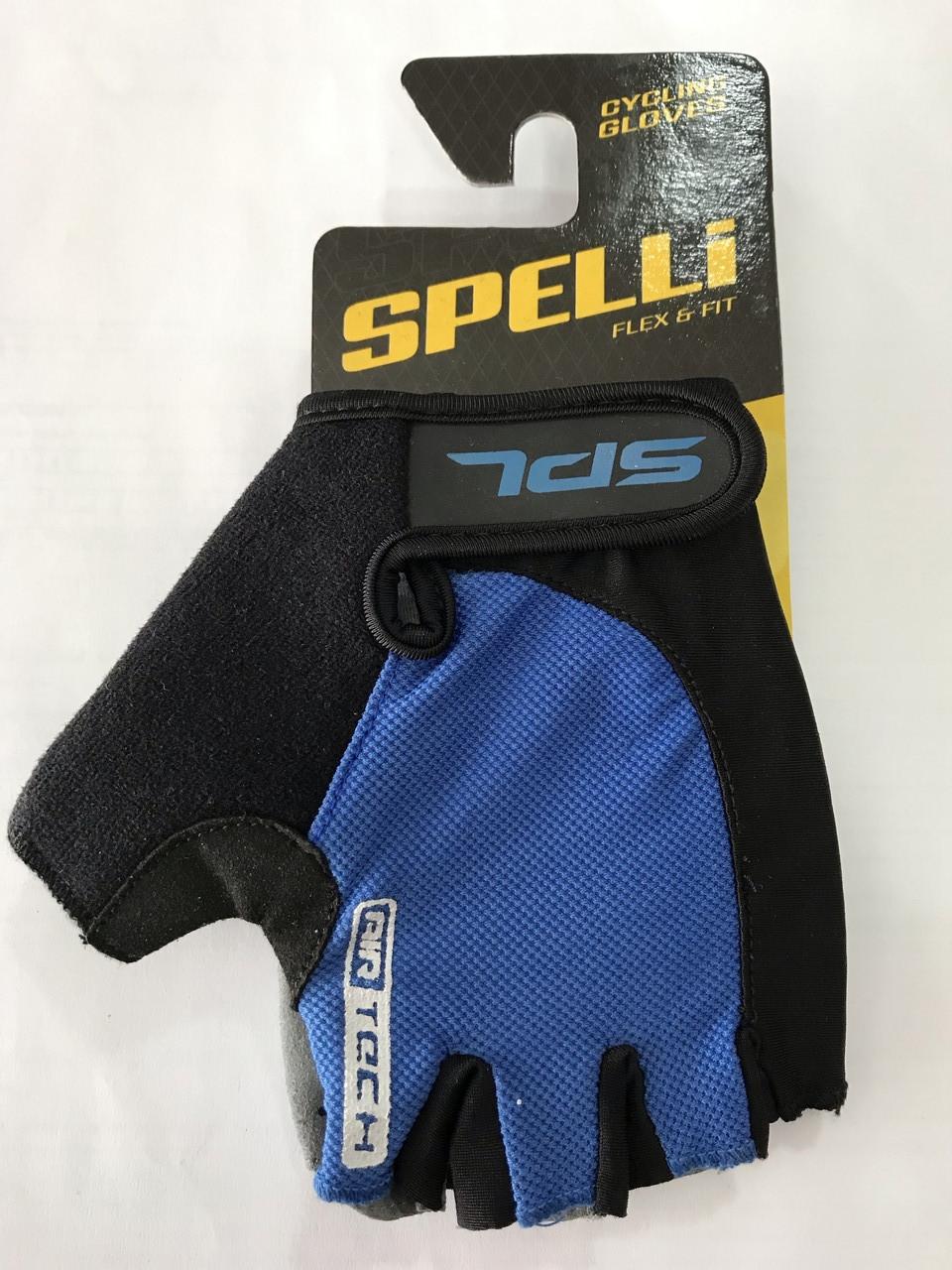 Перчатки без пальцев с гелевыми вставками под ладонь SBG-1457 размер XL (408092)