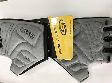 Перчатки без пальцев с гелевыми вставками под ладонь SBG-1457 размер XL (408092), фото 2