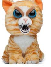 Интерактивная игрушка Feisty Pets злобная зверюшка Рыжий Кот 20 см