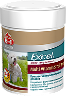 Витамины 8 in 1 Excel Multi Vitamin Small Breed для собак мелких пород, 70 шт