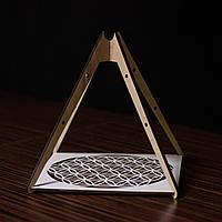 Гармонизатор пространства Пирамида Цветок жизни 20х20 см