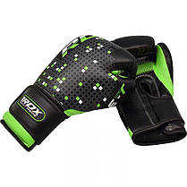 Детские боксерские перчатки RDX Green, фото 3