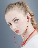 Беспроводные наушники Lenovo HE05 IPX5 управление голосом Bluetooth 5,0 (Красный)