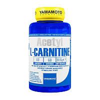 Ацетил Л-карнитин Yamamoto nutrition Acetyl L-Carnitine 60 caps