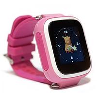 Детские смарт-часы Q80 1.44 (розовый)