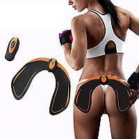 Тренажер Миостимулятор для ягодиц, EMS Hips Trainer для похудения, Тренажер для попы, Антицеллюлитный массажер