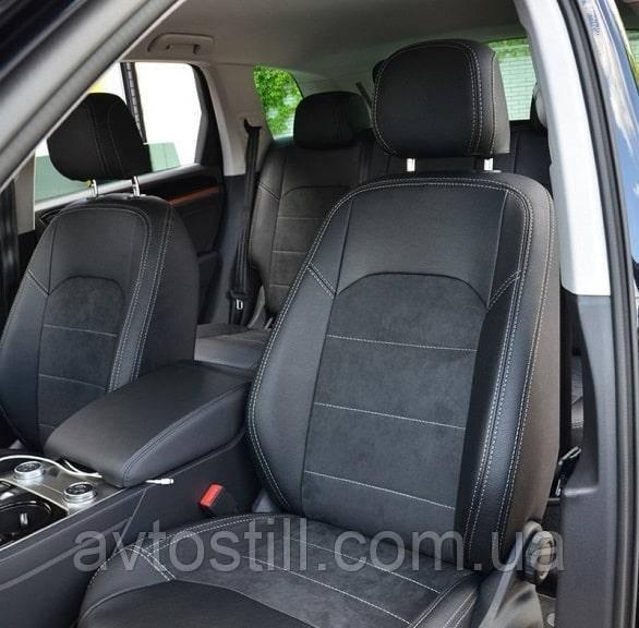 Чохли на сидіння Volkswagen Touareg 3 ❘ авточохли Туарег (2018-2021)