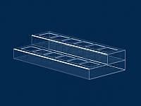 Подставка под лаки для ногтей (2 ряда)