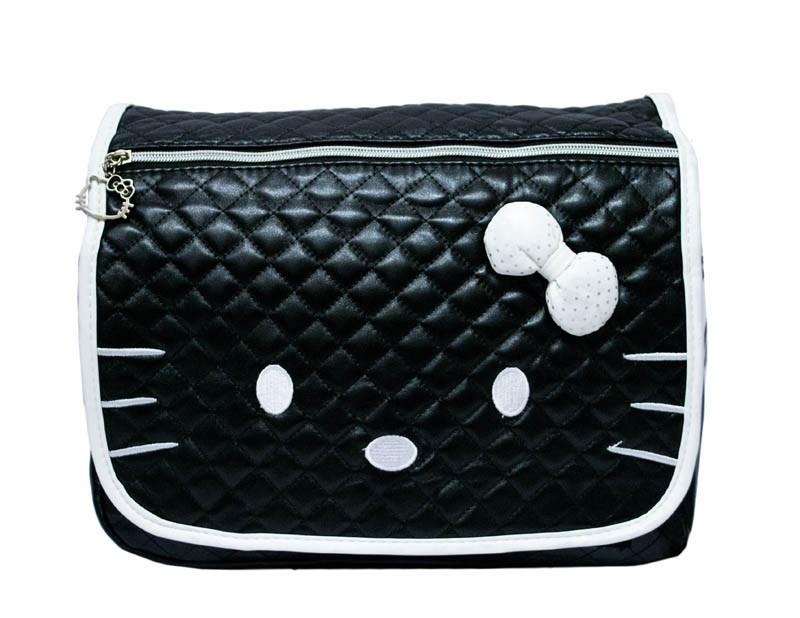 Детская сумка Hello Kitty 4 Цвета Черный (бел.)
