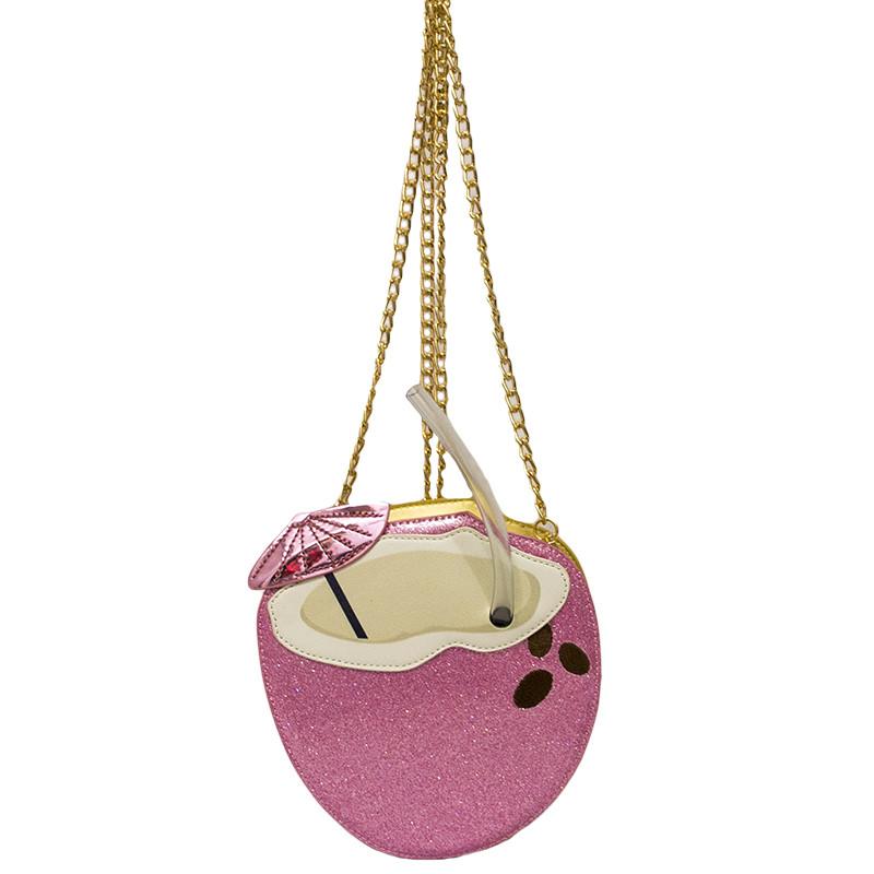 Женская сумка (Coconut) 3 Цвета Розовый