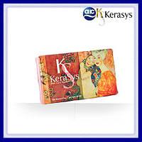 Мыло для сухой кожи лица и тела Kerasys silk soap