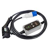 Зарядное устройство для электромобиля Nissan, Tesla, Chevrolet, Fiat, BMW, Toyota - Wi-Fi - MC PRO7 T1
