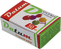 """Кнопки """"Datum"""" №D1731/300081 метал. кольорові(50шт)(10)(1000)"""