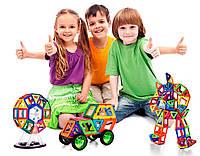 Большой магнитный 3D конструктор для детей 258 предметов