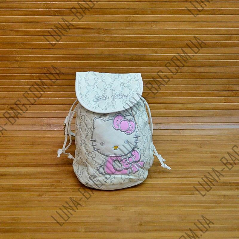 Рюкзак - мешок Hello Kitty 3 Цвета Белый.