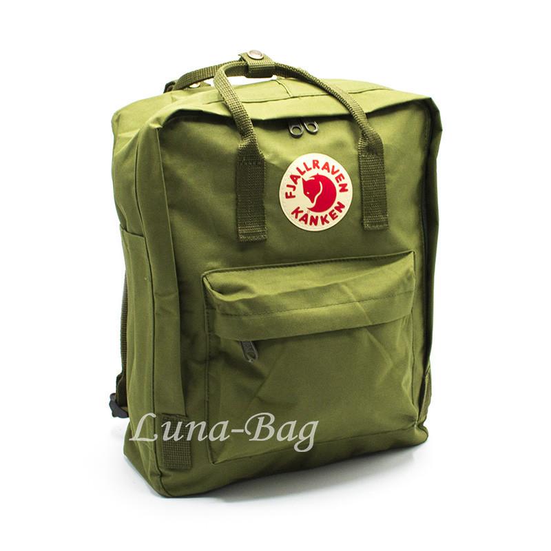 """Рюкзак """"KANKEN"""" 10 Цветов Зеленый."""